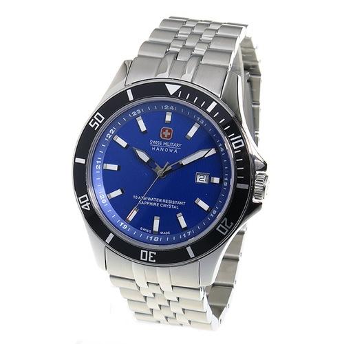 スイスミリタリー SWISS MILITARY クオーツ メンズ 腕時計 ML-338 ブルー