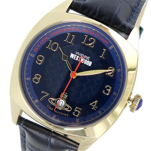 ヴィヴィアン ウエストウッド クオーツ メンズ 腕時計 VV175BLBL ネイビー