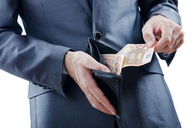 サムソナイトの財布は収納スペースが使いやすい!