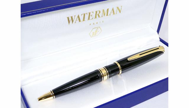 ウォーターマンボールペン エボニーブラック GTBP