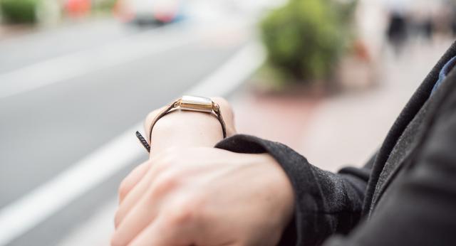 正確で腕の負担が少ないモンディーン腕時計