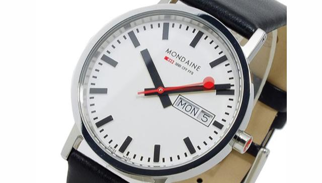 シーンを選ばないモンディーン腕時計