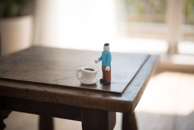 一人暮らし男性1Kテーブル配置例