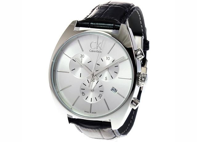 ベーシックスタイルで落ち着きがあるカルバンクライン腕時計