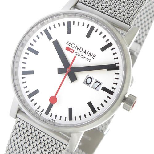 モンディーン エヴォ2 クオーツ メンズ 腕時計 MSE.40210.SM ホワイト