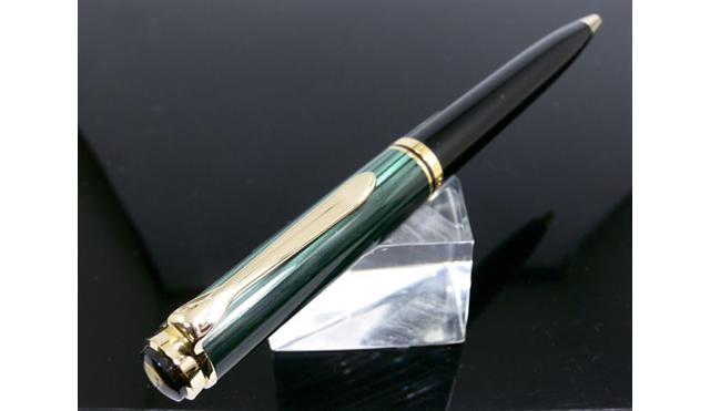 ペリカン SOUVERAN ボールペン K800 グリーン縞 BP