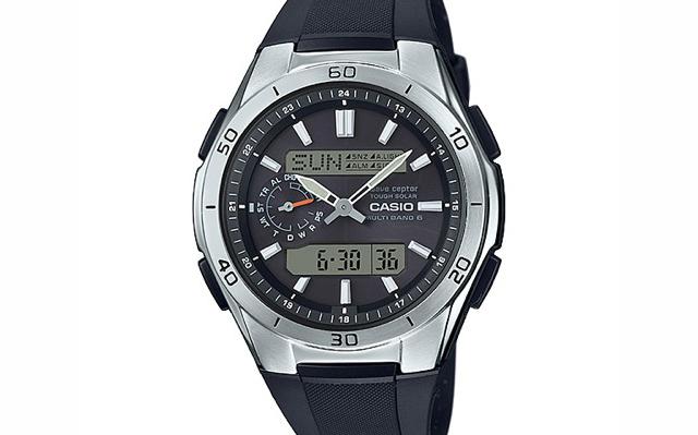 タイプが様々で選びやすいカシオウェーブセプター腕時計