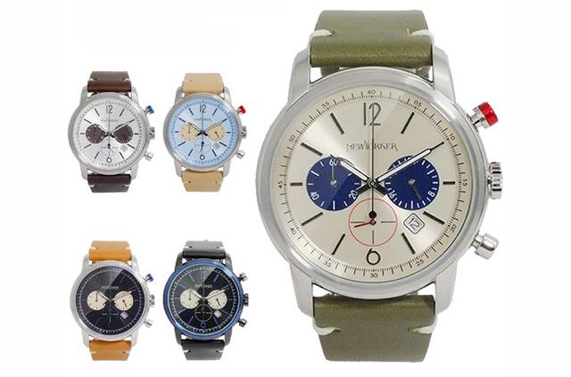 クラシックで落ち着いた雰囲気があるニューヨーカー腕時計