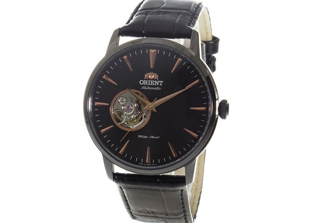 おすすめのオリエント革ベルト腕時計