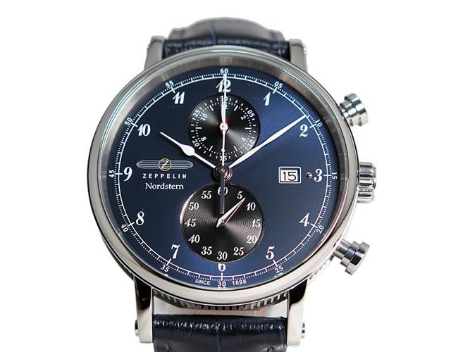 ツェッペリンのメンズ腕時計の評判