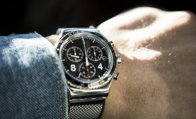 つけているだけで男らしく見える腕時計