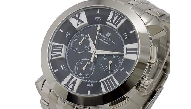 サルバトーレマーラ腕時計SM14107-SSBKSV