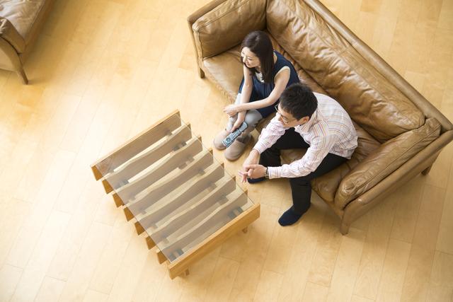 一人暮らし空間有効活用センターテーブル
