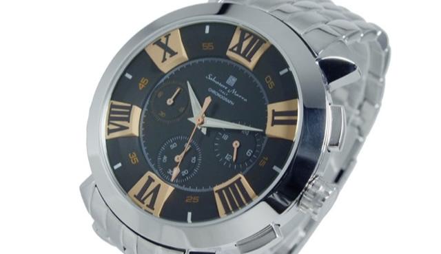 サルバトーレマーラ腕時計SM14107-SSBKPG