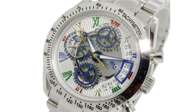 サルバトーレマーラ腕時計SM13108-SSWHCL