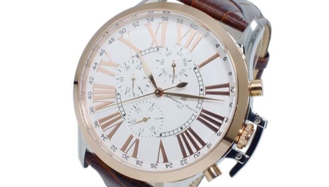 サルバトーレマーラ腕時計SM14123-PGWH