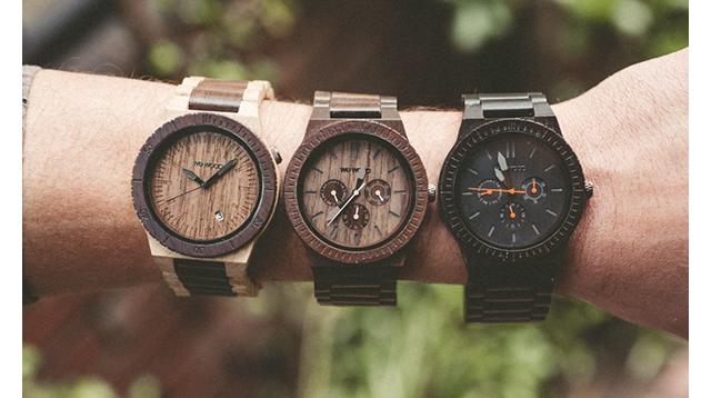 軽くてフィット感抜群な腕時計
