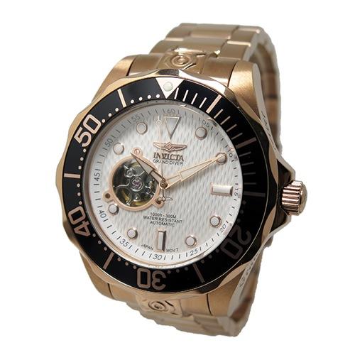インヴィクタ INVICTA グランドダイバー 自動巻き メンズ 腕時計 13712 ホワイト