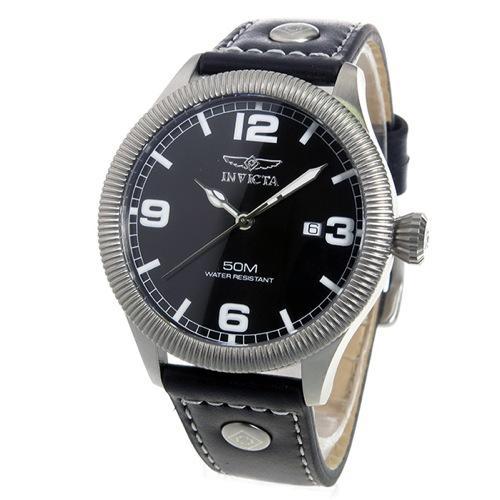 インヴィクタ INVICTA クオーツ メンズ 腕時計 1460 ブラック
