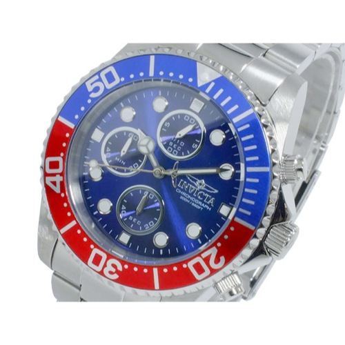 インヴィクタ INVICTA ププロ ダイバー クオーツ クロノ メンズ 腕時計 1771