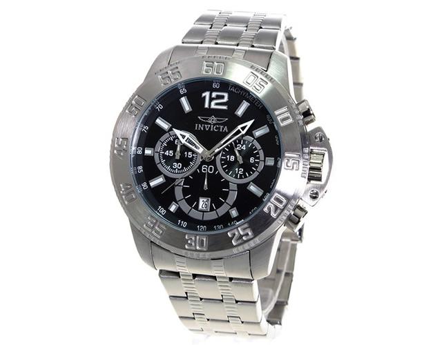 インヴィクタ腕時計17444 ブラック