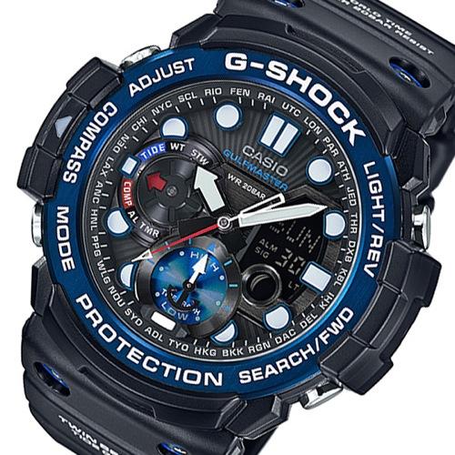 カシオ Gショック ガルフマスター メンズ 腕時計 GN-1000B-1AJF ブラック 国内正規