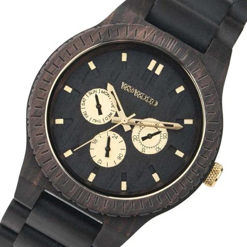 ウィーウッド 木製 メンズ 腕時計 KAPPA-BLACK-RO ブラック 国内正規
