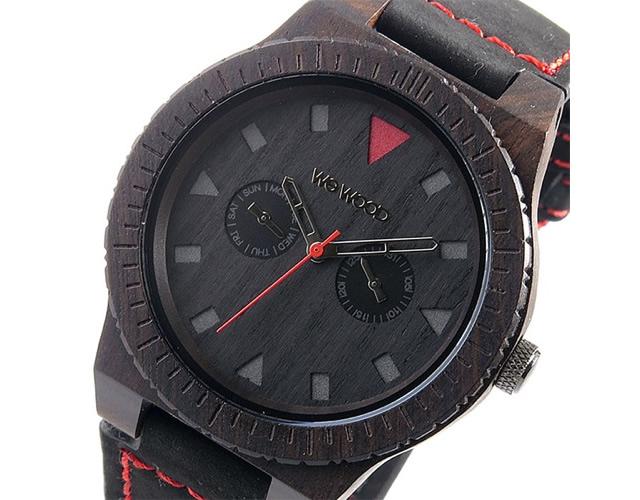 ウィーウッド腕時計LEO-TERRA-BLACK