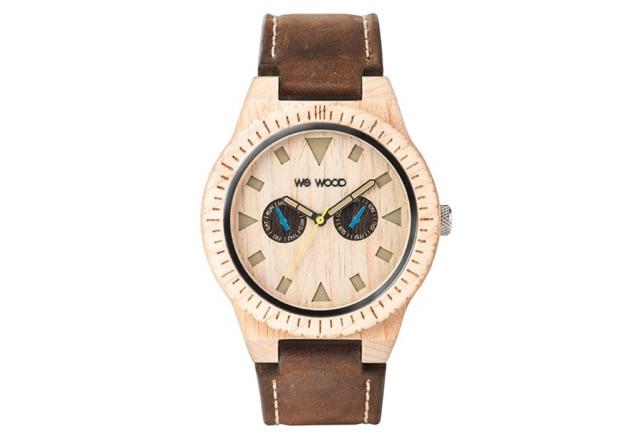 ウィーウッド腕時計LEO-LEATHER-BE