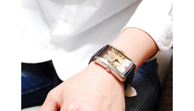 フィット感が違う腕時計