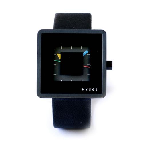 ピーオーエス ヒュッゲ 2089BK2 腕時計 HGE020081 ブラック