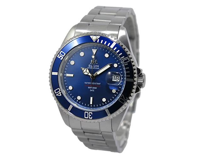 エルジン腕時計FK1405S-BL