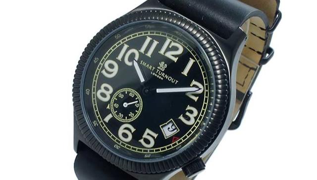 スマートターンアウト腕時計ST-007BBK