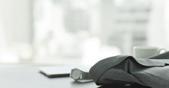 デザインもビジネスライクな腕時計