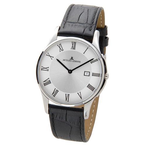 ジャックルマン ケビンコスナー アンバサダーモデル ロンドン メンズ 腕時計 1-1777D シルバー