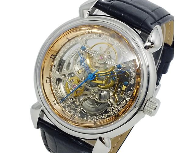 アンティークとモダンがミックスしたデザインの腕時計