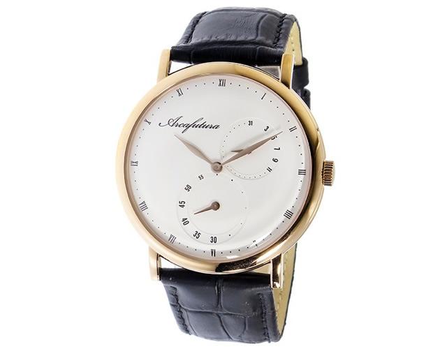 アルカフトゥーラ腕時計1074IP-WHBK