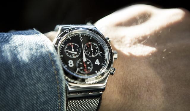 高いデザイン性と機能性の腕時計