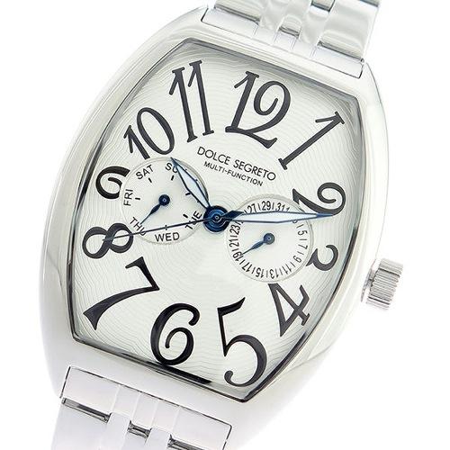 ドルチェセグレート DOLCE SEGRETO クオーツ 腕時計 MFK100SV シルバー/シルバー