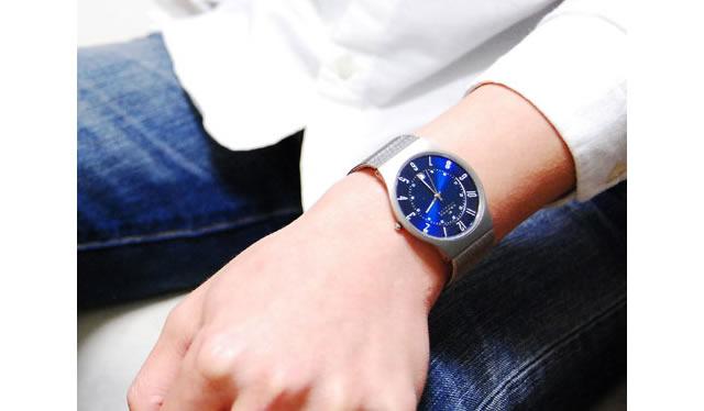 さわやかでクリーンなイメージな腕時計