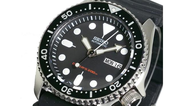 セイコーダイバーズ腕時計SKX007KC
