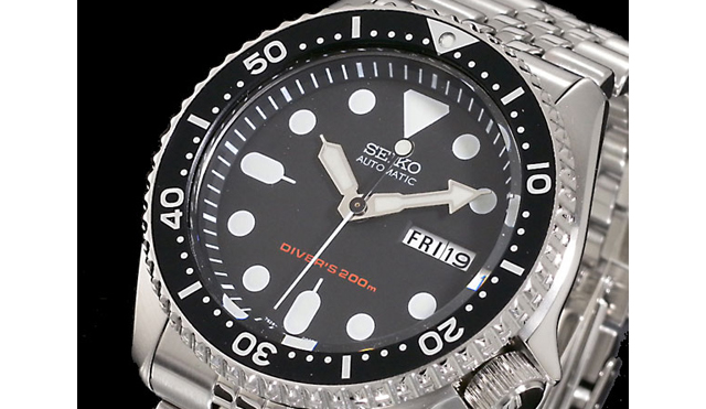 セイコーダイバーズ腕時計SKX007K2