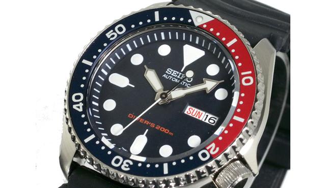 セイコーダイバーズ腕時計SKX009KC