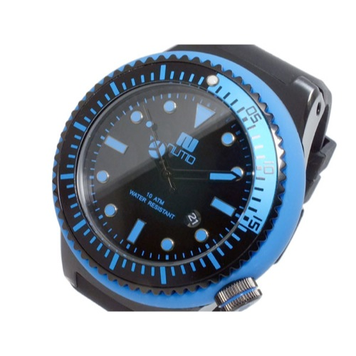 ヌーティッド NUTID SCUBA PRO クオーツ メンズ 腕時計 N-1401M-D BL
