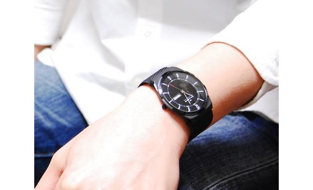 引き締めとおしゃれ効果があるスカーゲン腕時計