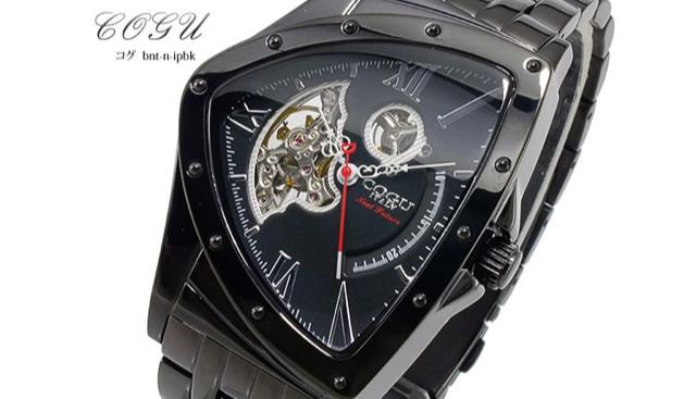 コグ腕時計BNT-N-IPBK