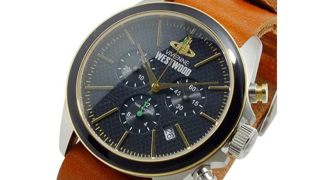 オンオフがっつり使えるヴィヴィアンウエストウッド腕時計