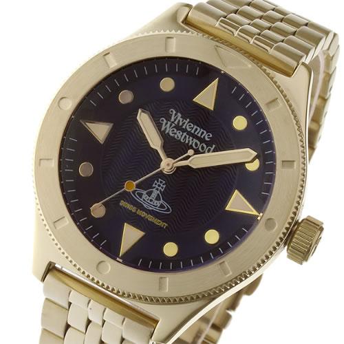 ヴィヴィアン ウエストウッド スミスフィールド ユニセックス 腕時計 VV160NVGD ダークネイビー