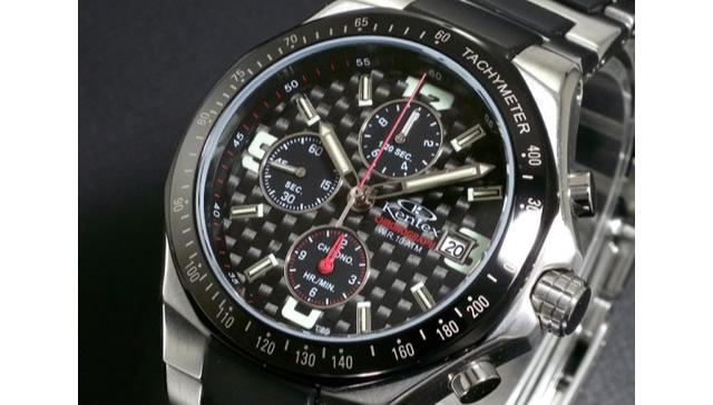 贅沢な素材を使ったゴージャスウォッチなケンテックス腕時計