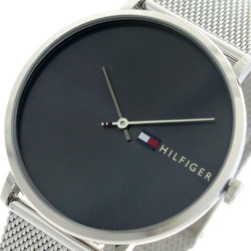 トミーヒルフィガー TOMMY HILFIGER 腕時計 メンズ 1791465 クォーツ ブラック シルバー